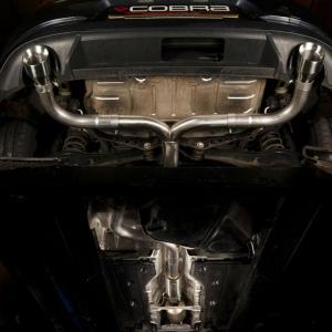 Golf GTI Mk7 (5G) (Inkl Perf Pack / Clubsport) 12- Venom Cat Back System (Non Resonated) Cobra Sport