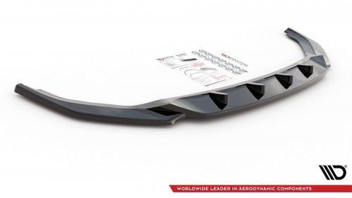 VW Transporter T6 Facelift 19+ Frontsplitter V.2 Maxton Design