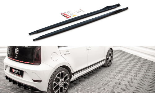 VW UP GTI 18+ Sidoextensions V.1 Maxton Design