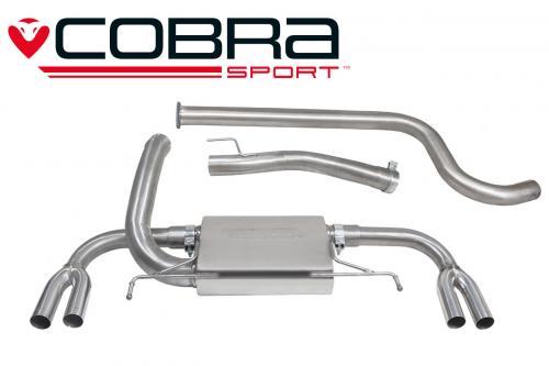 Astra J VXR 12- Catback (Ej Ljuddämpat) Cobra Sport