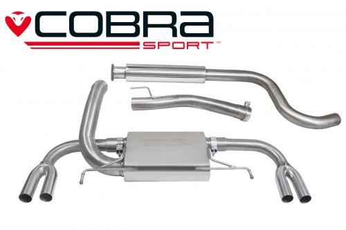 Astra J VXR 12- Catback (Ljuddämpat) Cobra Sport