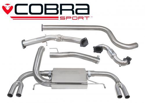 Astra J VXR 12- Turboback-system (Med Sportkatalysator & Ej Ljuddämpat) Cobra Sport