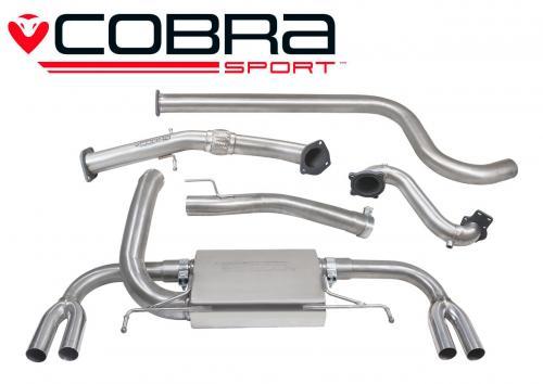 Astra J VXR 12- Turboback-system (Med De-Cat & Ej Ljuddämpat) Cobra Sport