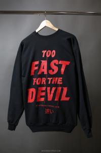 """WMD """"Too Fast""""-Sweatshirt"""