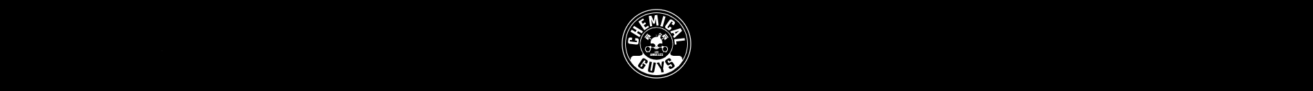 chemical guys black banner with logo