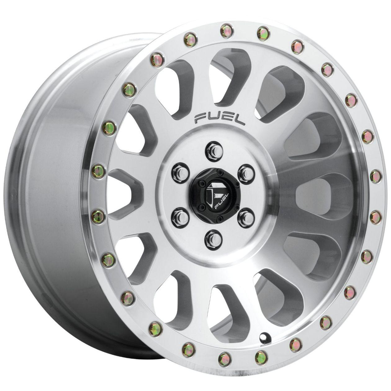 Vector 20x10 18 Et 5x5 0 5x127 Mm Diamond Cut Machined W Clear Coat Fuel