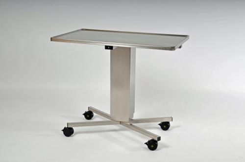 Instrument Table, 950 x 550 mm, Height: 900 - 1400 mm