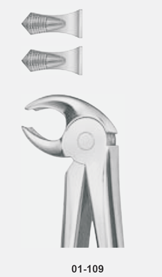 Tooth Forceps, For lower molars, either side, fig: 22