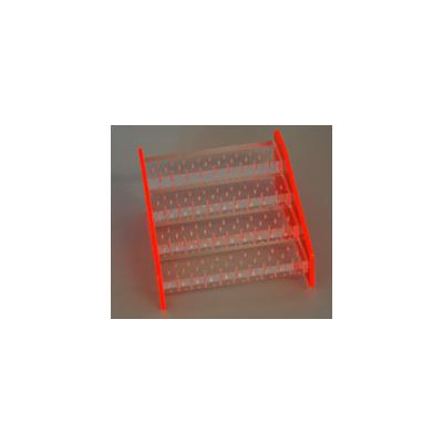 Drill Stand plexiglass M Pink FG Stepped 184 holes
