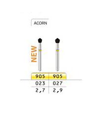 Diamond Drill 905 FG027 Yellow Acorn 4st fp