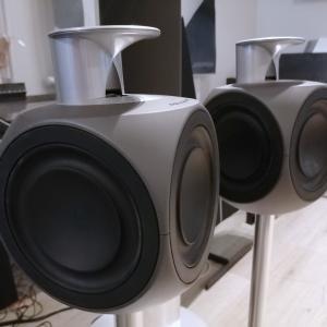 Beolab 3 Dark gray + Floor stand