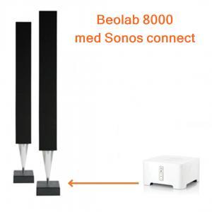 Beolab 8000 ihop med Sonos Connect