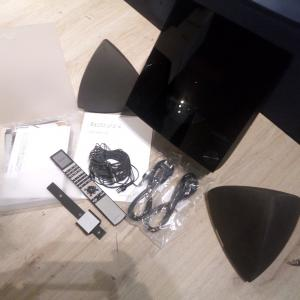 Bang & Olufsen Sound system Beosound 4 + Beolab 4 and Beo4 remote