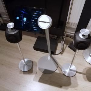 Beosound 5 music system including Beolab 3