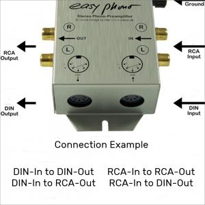"RIAA - Phono preamplifier ""easy Phono"""