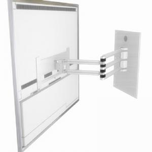 Beovision 10-40 wall bracket Alu - Can be rotated 180 degrees to each side