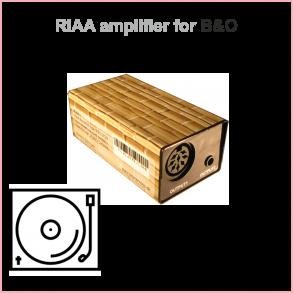 RIAA FÖRFÖRSTÄRKARE FÖR BANG & OLUFSEN