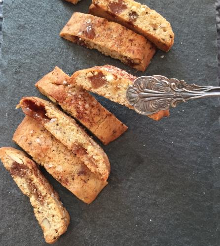 Appletoffee biscotti