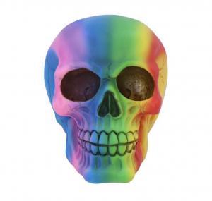 Dekoration döskalle Rainbow