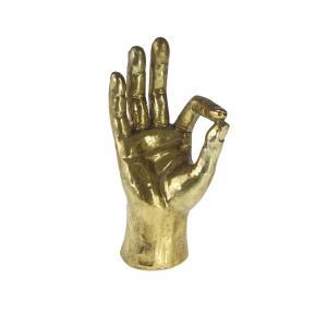 Dekoration Hand. OK Guld