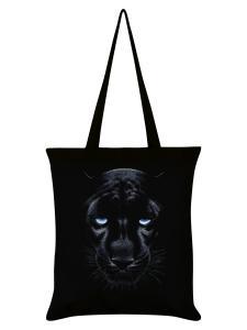 Tygväska/Shoppingbag, Panther Black
