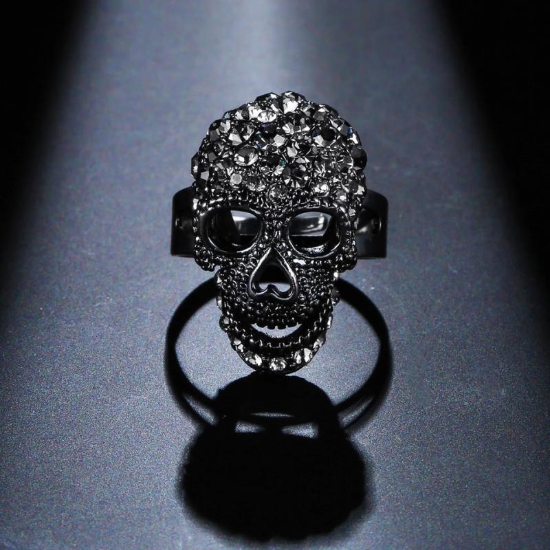 Döskalle Ring, Ställbar Crystal