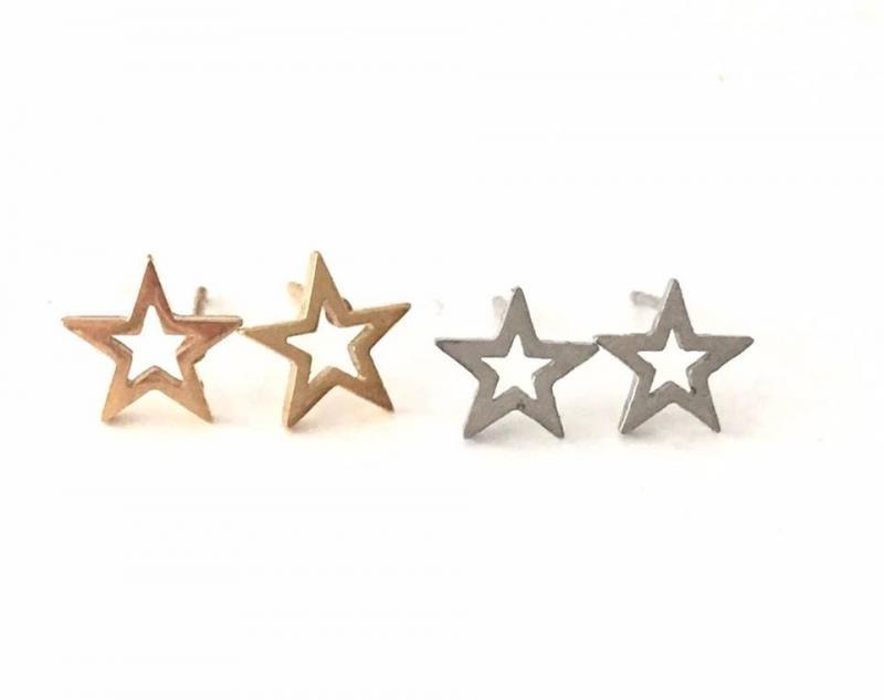 Hollow Star, Örhängen, 2 Färger