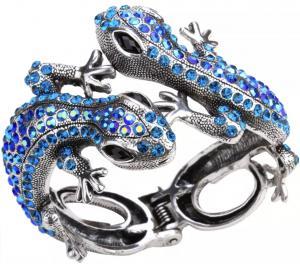Armband, Gecko Blå