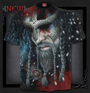 T-shirt, Spiral, Viking Wrap Allover