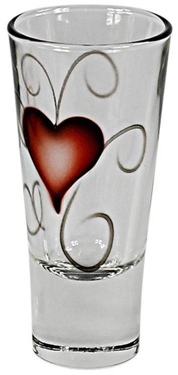 Shots/snaps glas, Heart