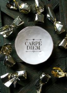Majas Miniskål, Carpe Diem, 2 Färger (kopia)