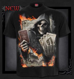 T-shirt, Spiral, Ace Reaper