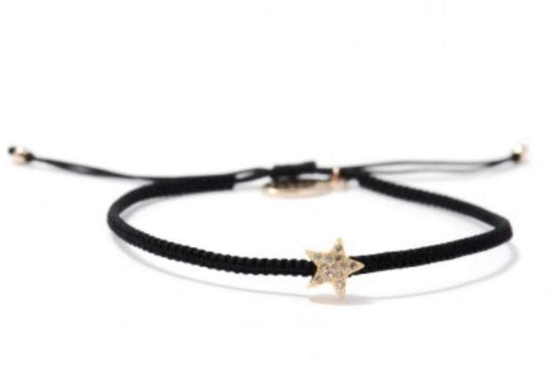 Armband, Star black/rosegold