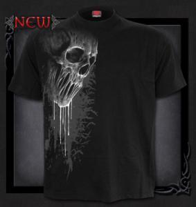 T-shirt, Spiral,Bat Curse ,Frontprint