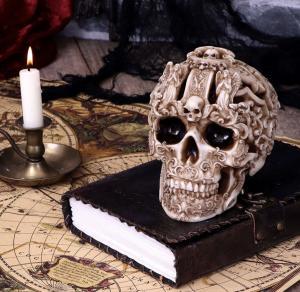 Döskalle Dekoration Gothic