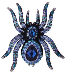 Spindel Ring, Blå