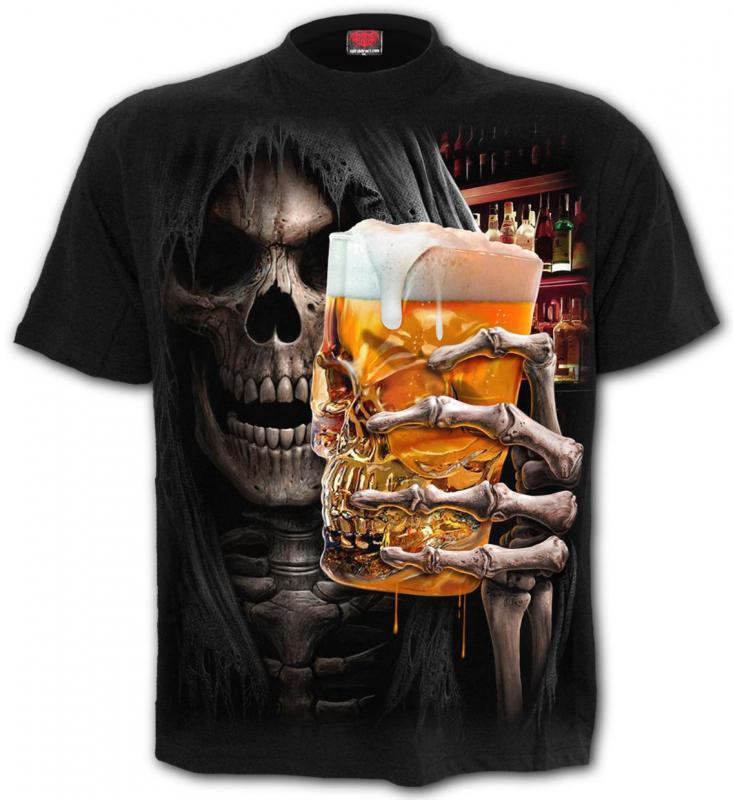 T-shirt, Spiral, Live Loud