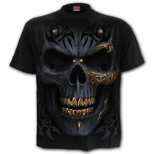 T-shirt, S-4XL, Black Gold