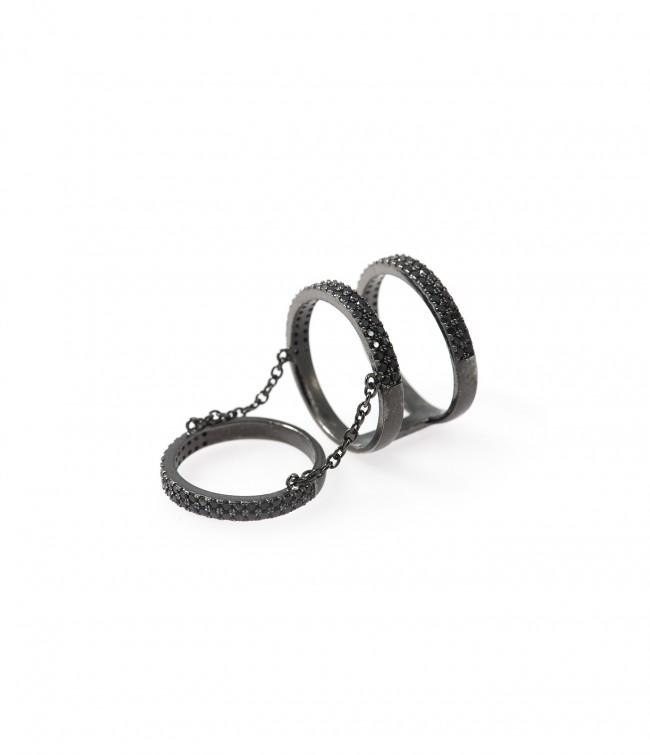 Deira Hematite, Ring i rostfritt stål