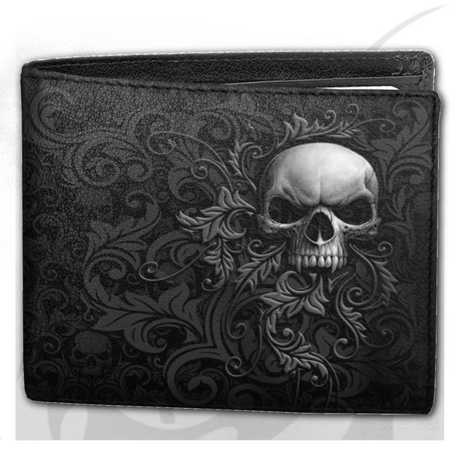 Plånbok, Spiral, Skull Scroll