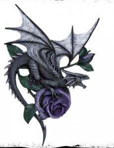 Väggdekoration, Drake Rose Large