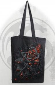 Tygpåse/Shoppingbag, Burnt Rose