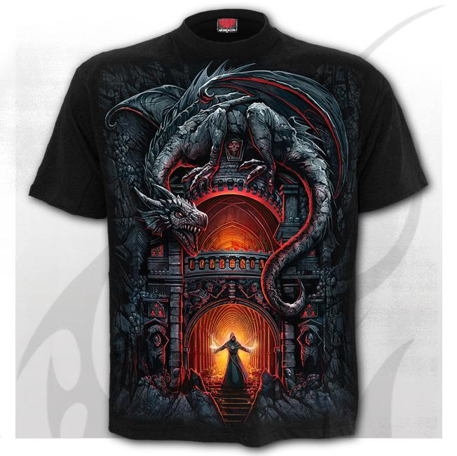 T-shirt, Spiral, DRAGON'S LAIR