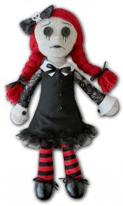 Cool Docka, LUNA-THE GOTH RAG DOLL