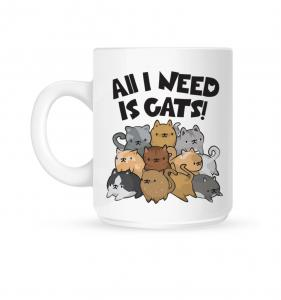 Mugg, All I Need Is Cats