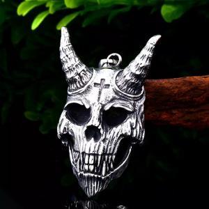 Halsband Satanic Devil, rostfritt stål