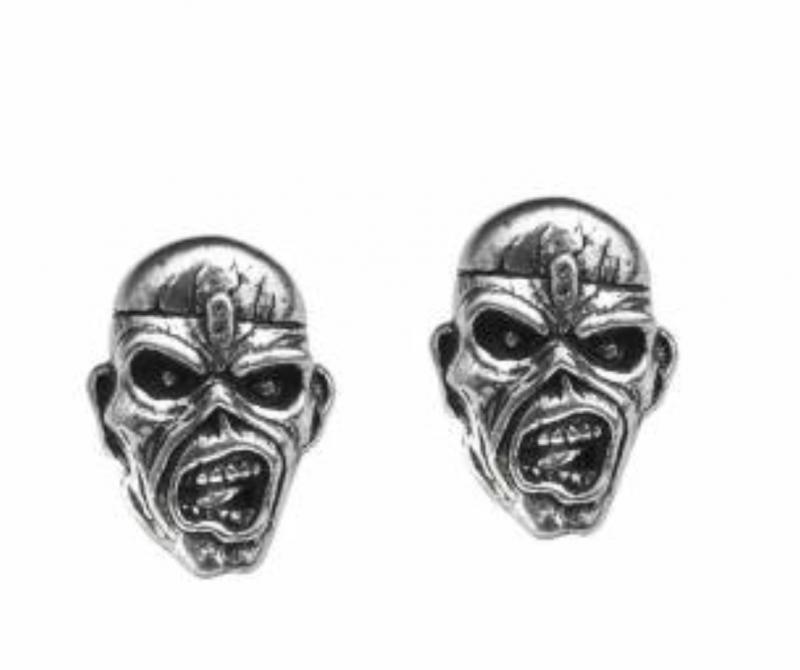Design Örhängen Iron Maiden Eddie