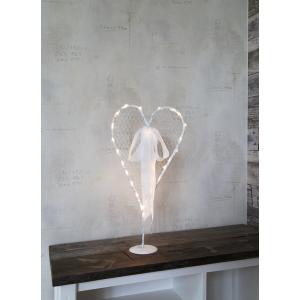 Lampa, Bordsdekoration Hjärta