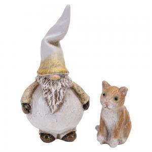 Tomte, Dante med katt