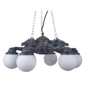 6-armad Draklampa